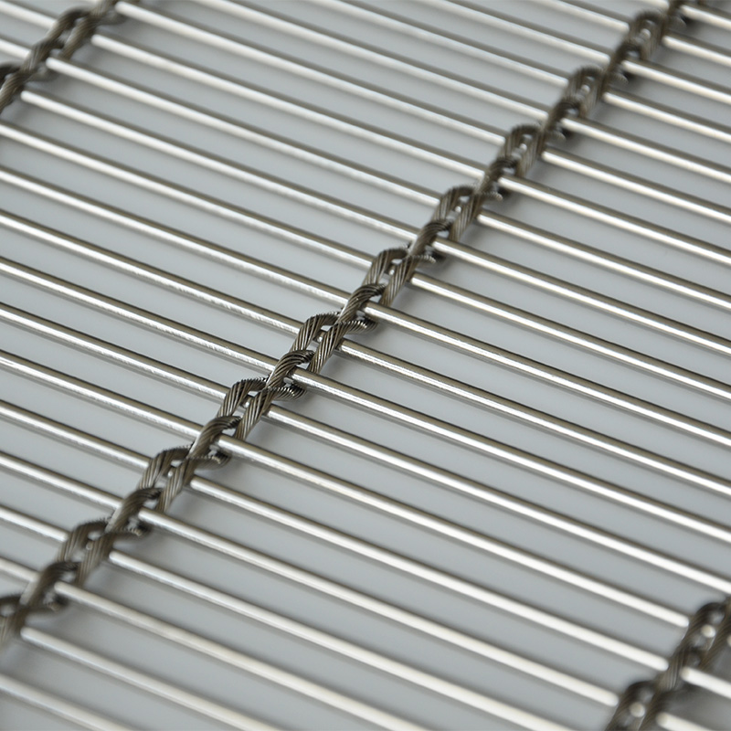 stainless steel architectural wire mesh panels sheets