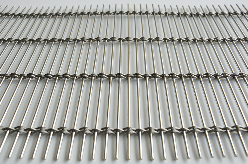 stainless steel architectural woven metal mesh