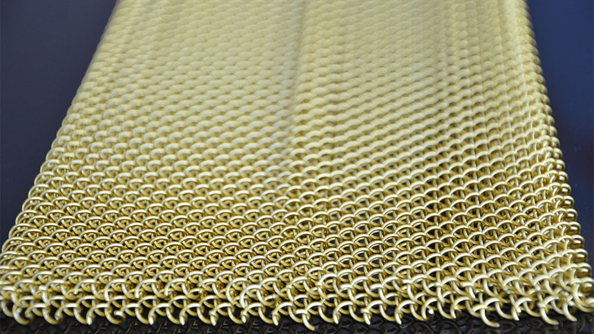 decorative fireplace mesh curtain metal mesh curtain