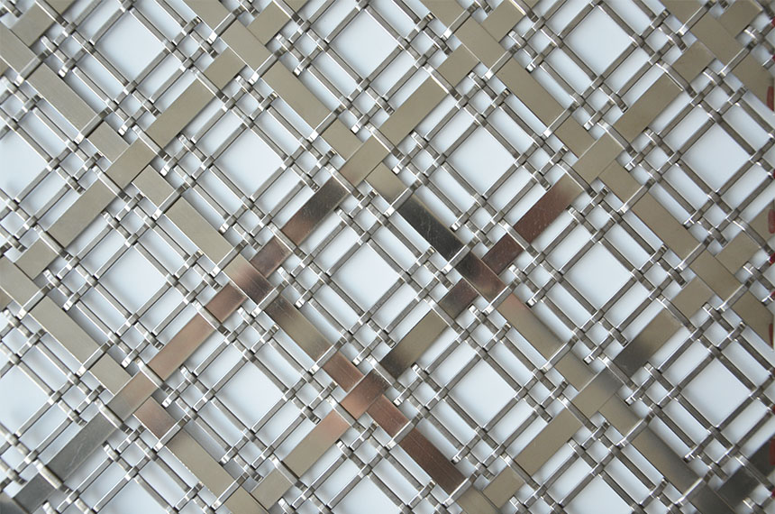 stainless steel decorative metal mesh panels