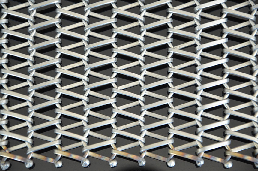 decorative stainless steel wire mesh belt