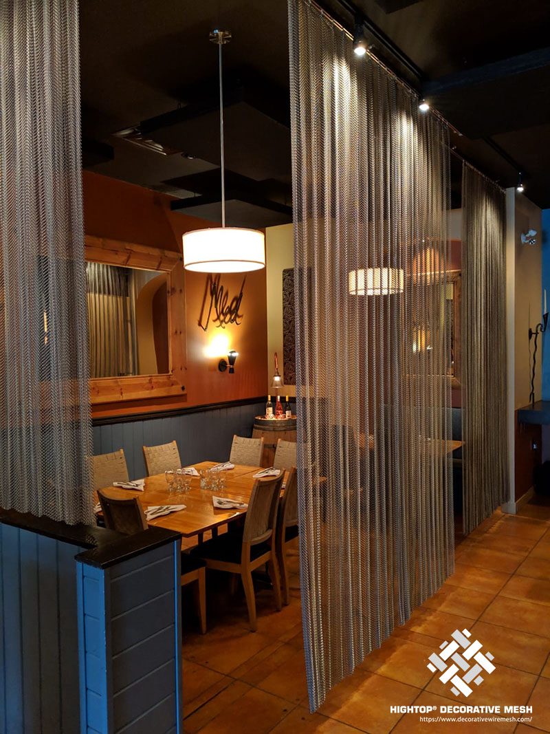 metal mesh curtains