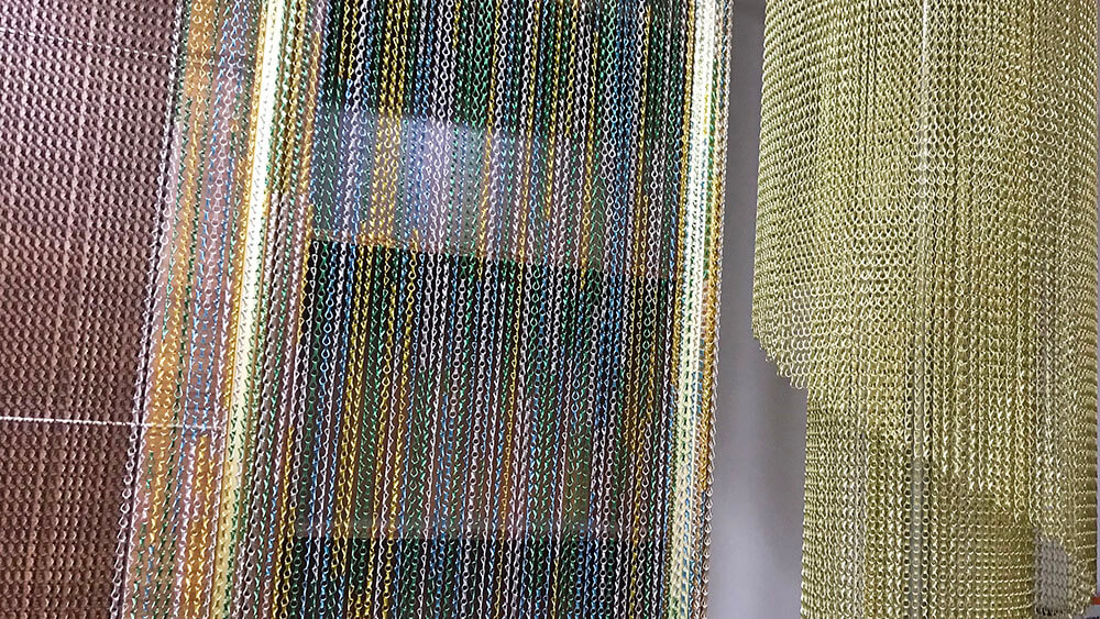 chain mesh curtains