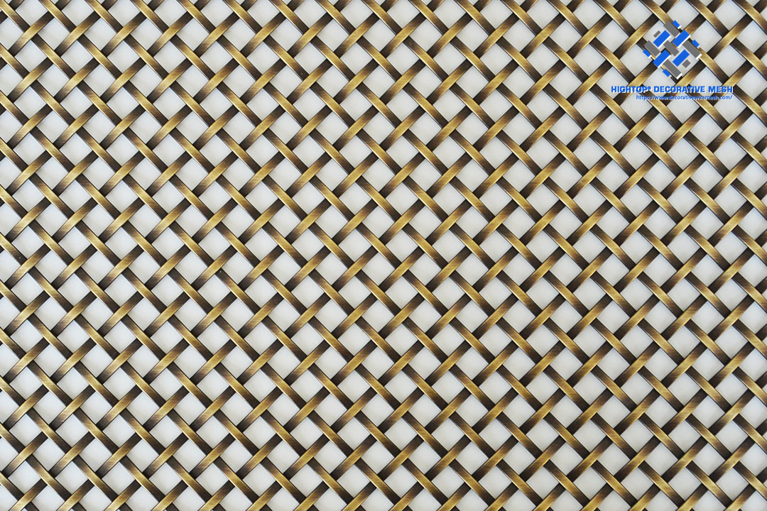 decorative brass mesh screen sheet
