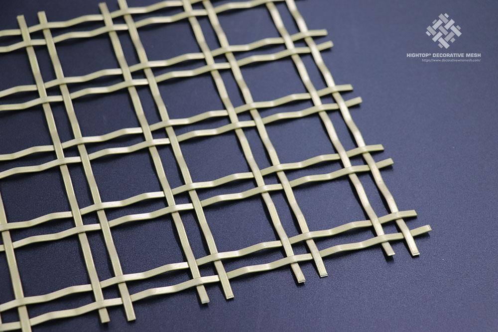 architectural crimped wire mesh