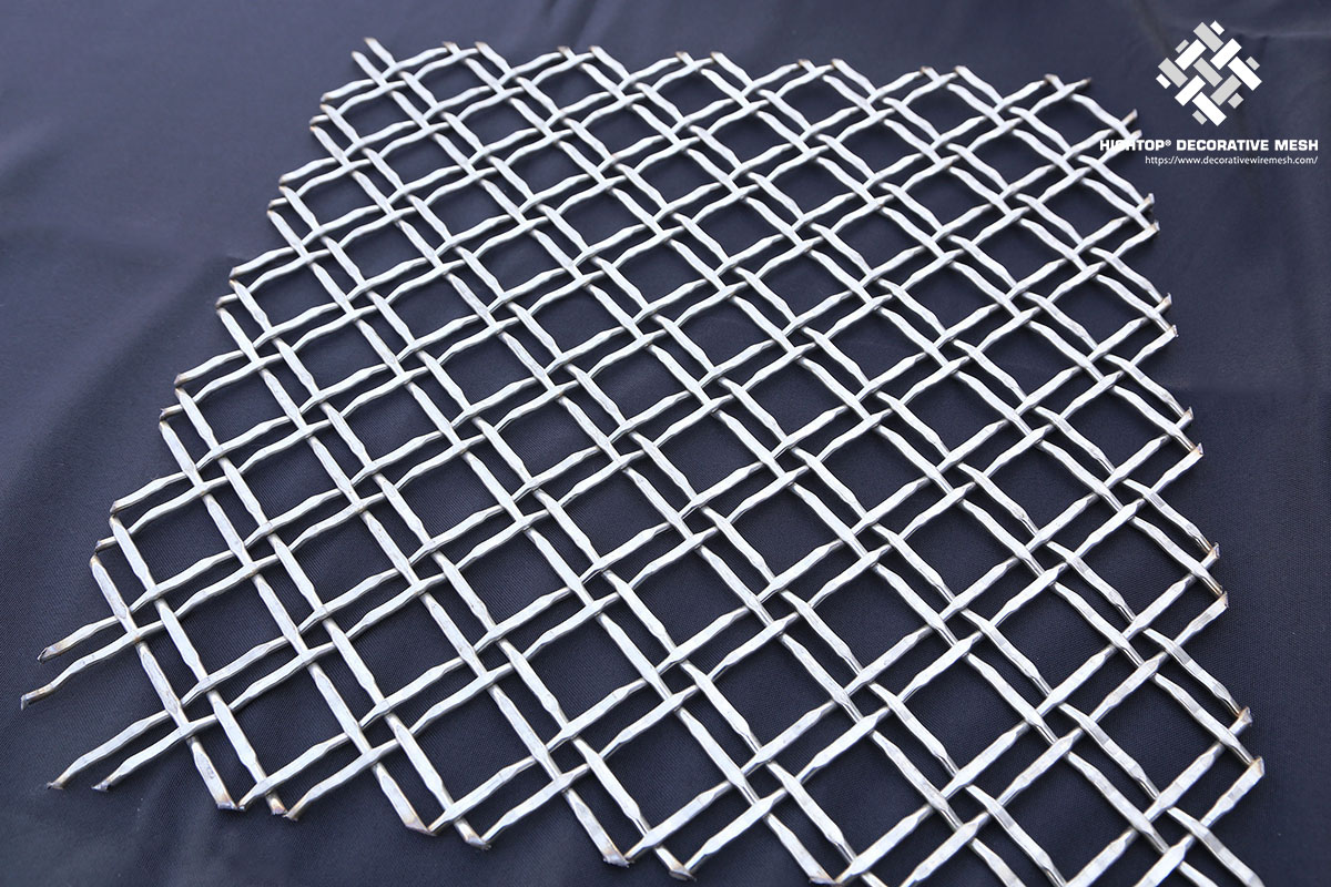 decorative metal grill mesh panel