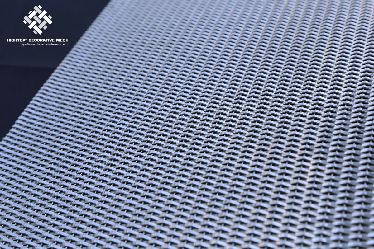 decorative metal mesh panel