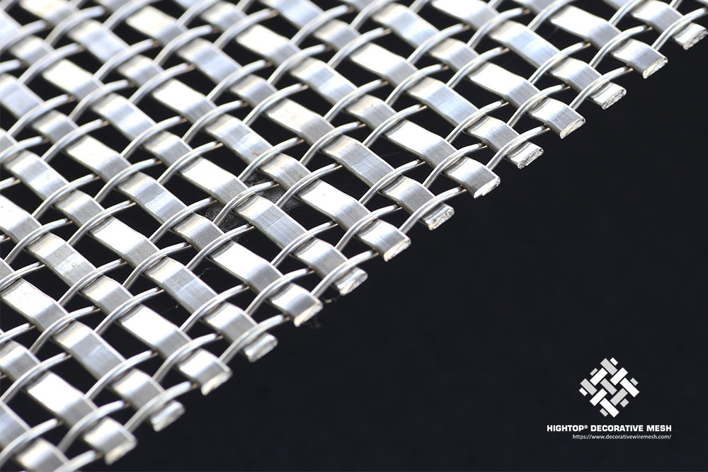 stainless woven mesh for hotel decoration