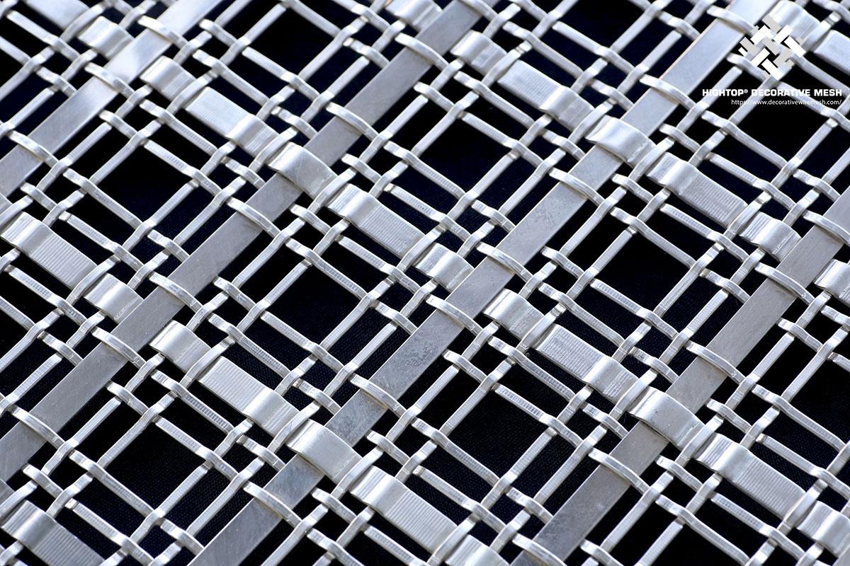 Decorative Wire Mesh Railing Infill Panels