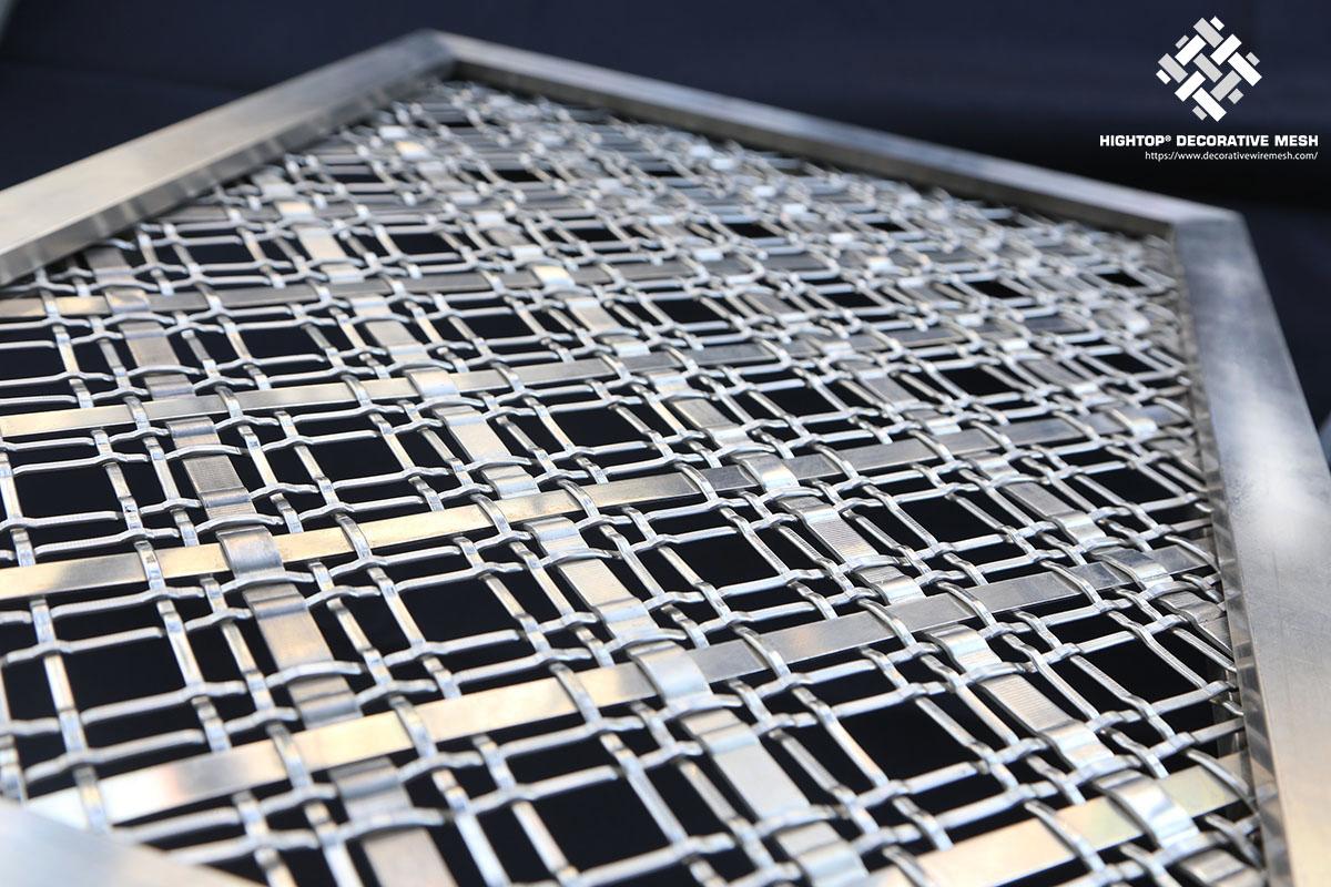 steel wire mesh railing system
