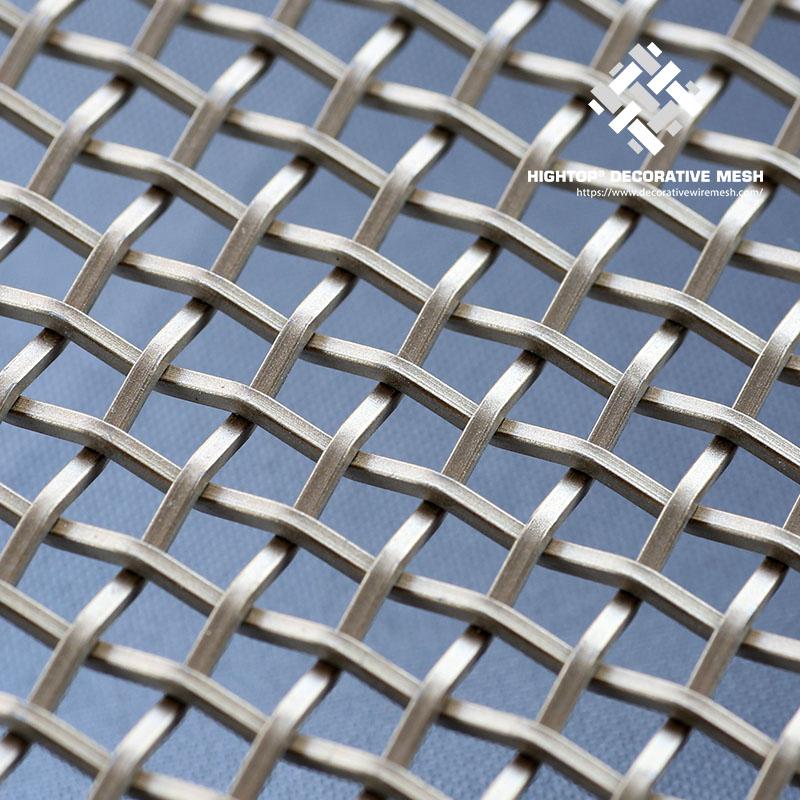 woven steel mesh panels