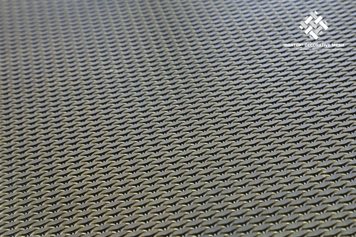 wire mesh panels sound absorption