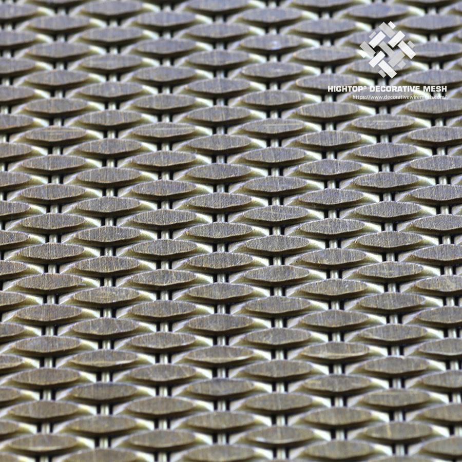 decorative brass mesh panels