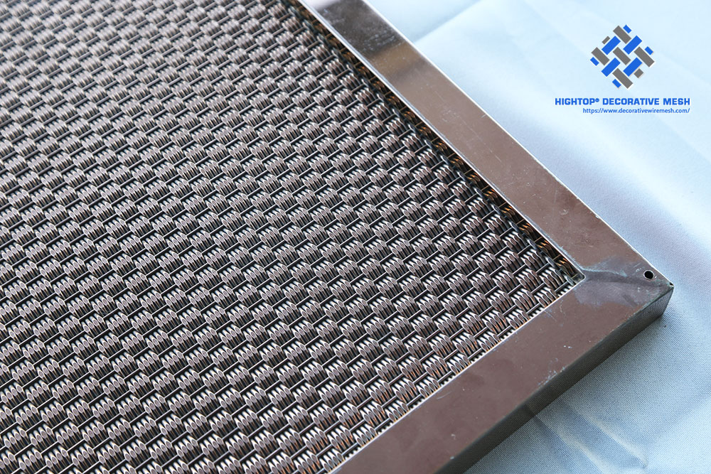 stainless steel mesh panels with frame
