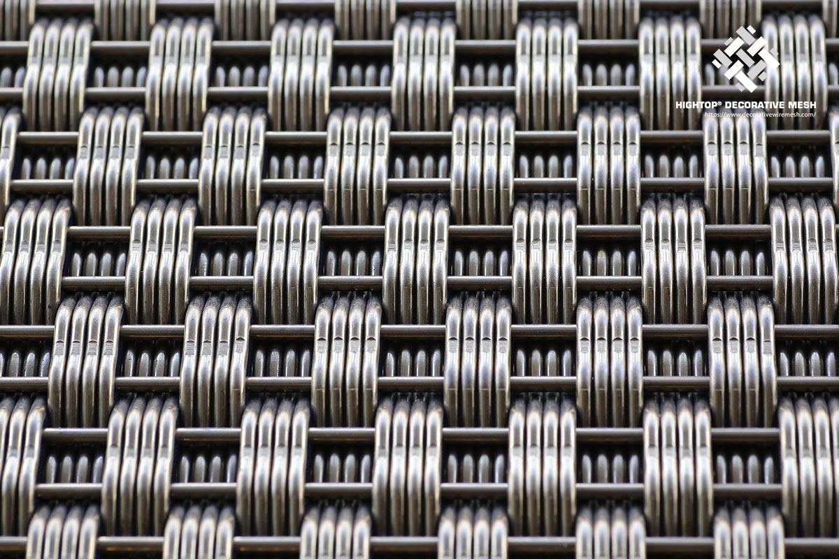 Architectural Stainless Steel Crimped Wire Mesh