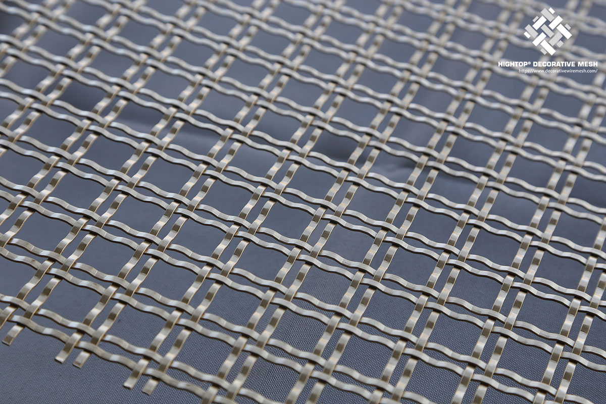 Double Crimped Wire Mesh Panel