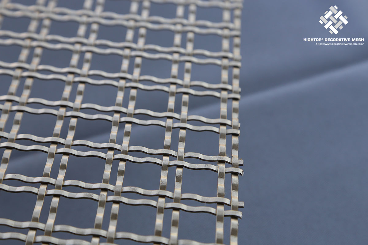 lock crimped wire mesh sheet