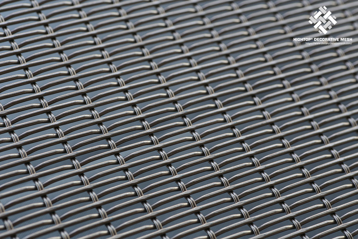 architectural wire mesh panel