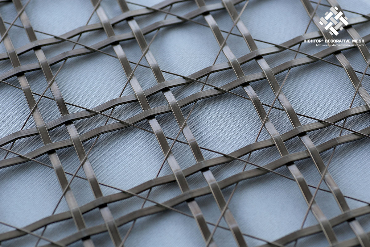 diamond metal mesh panels