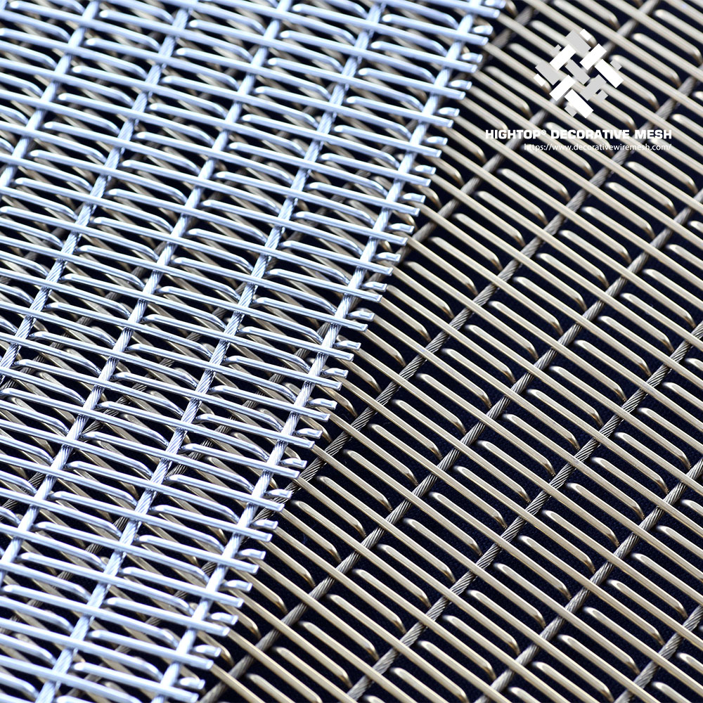 Decorative Woven Wire Mesh Sheet