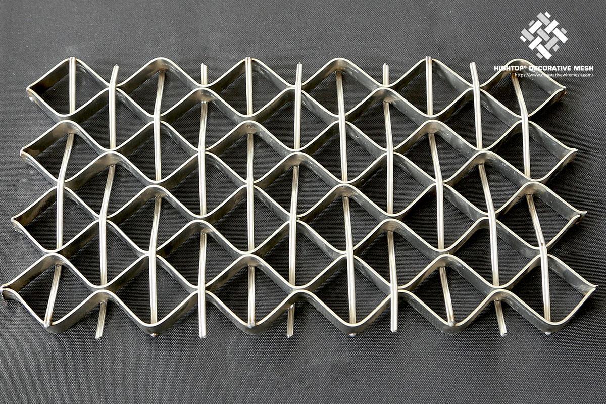 decorative railing mesh
