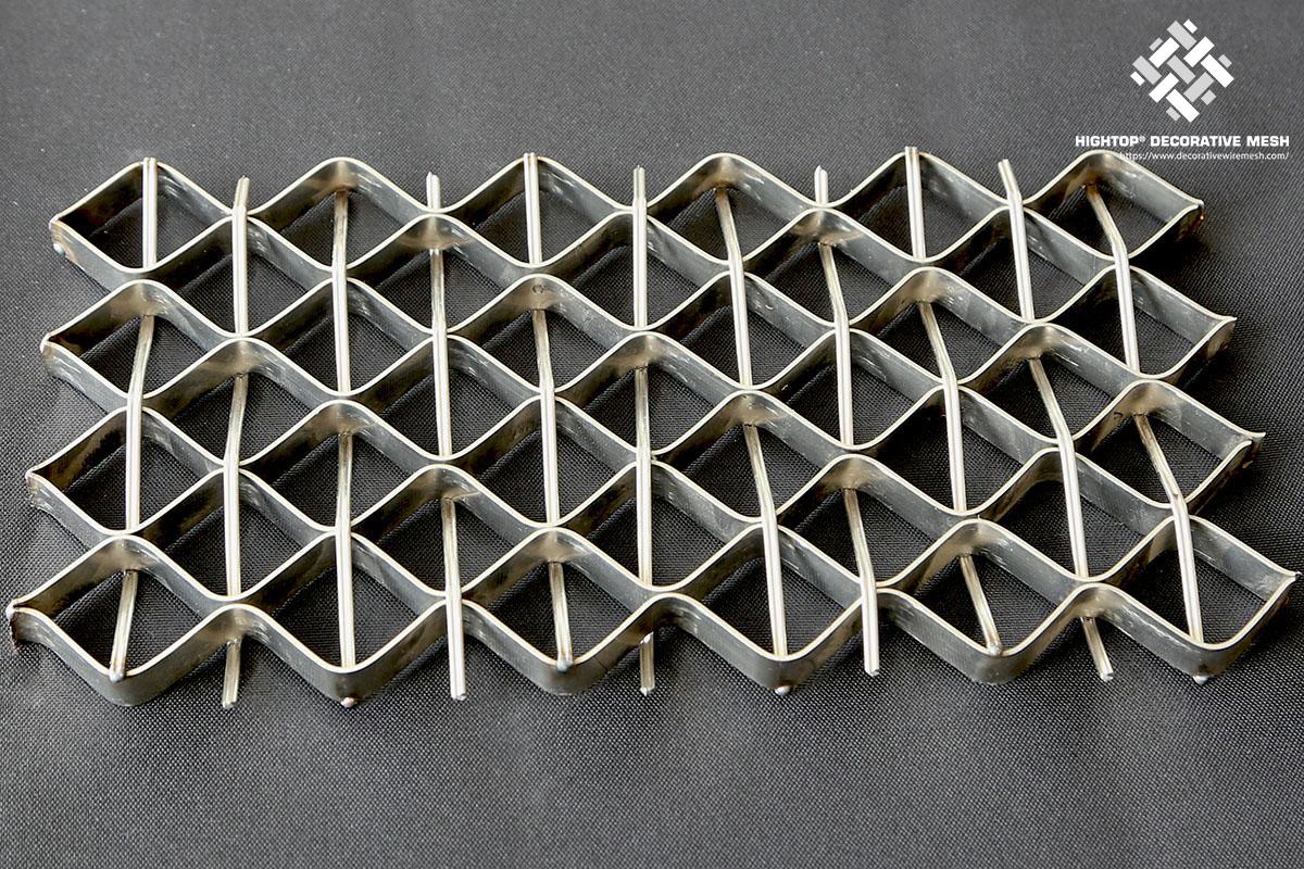 metal mesh balustrade panel