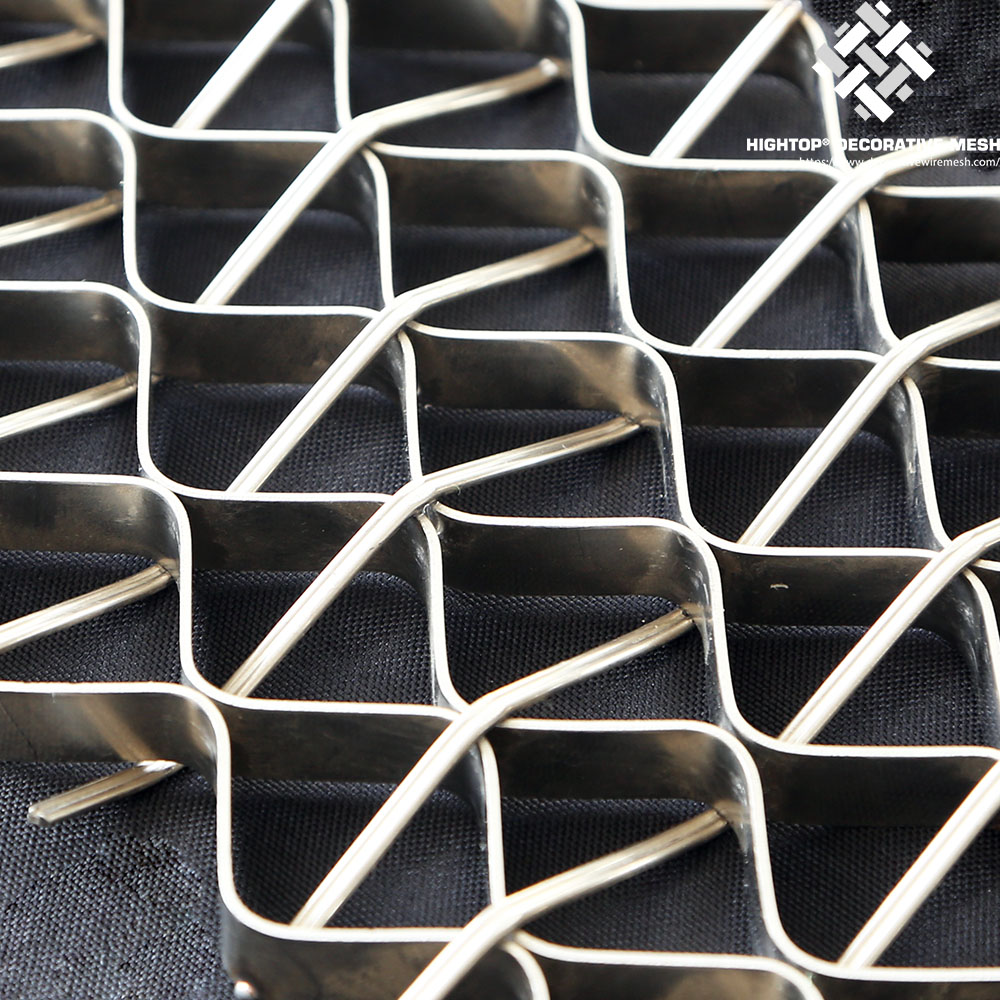 wire mesh railing infill panels