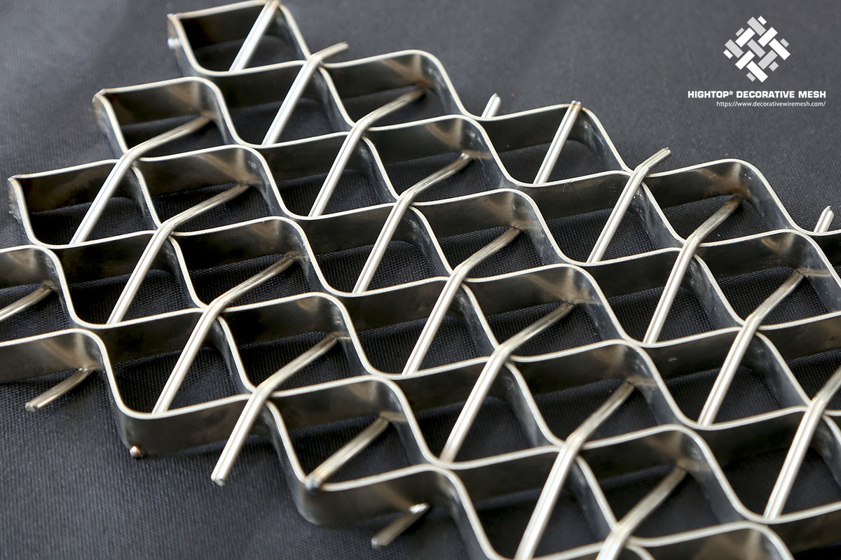 metal mesh infill panels