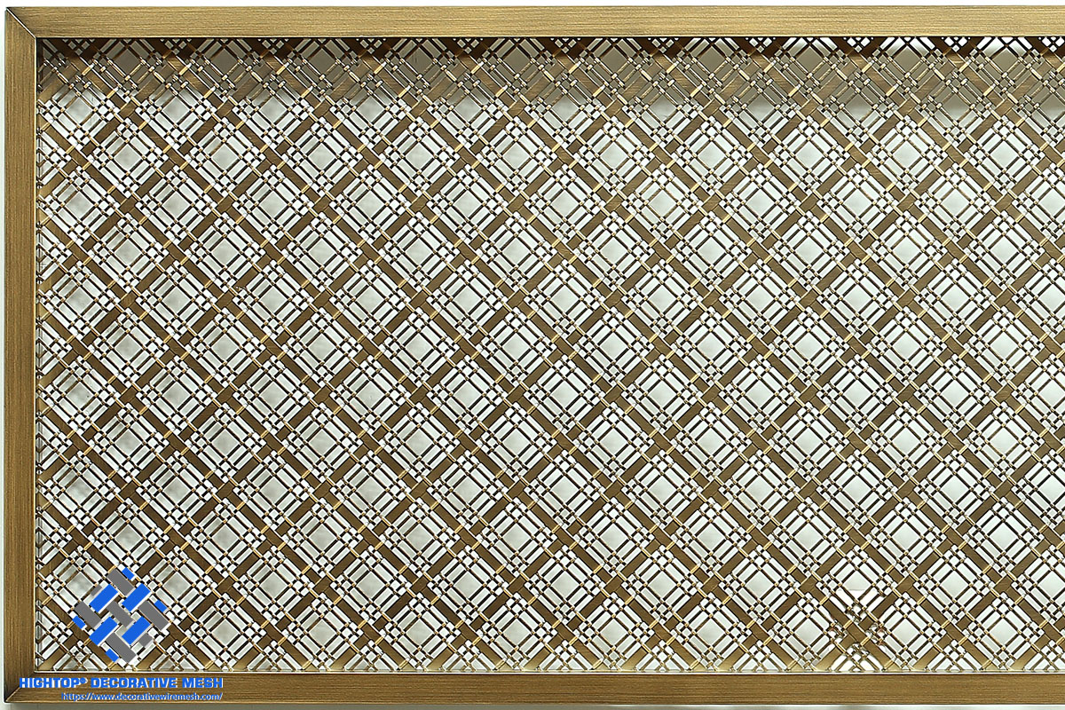 decorative metal screen panels for windows