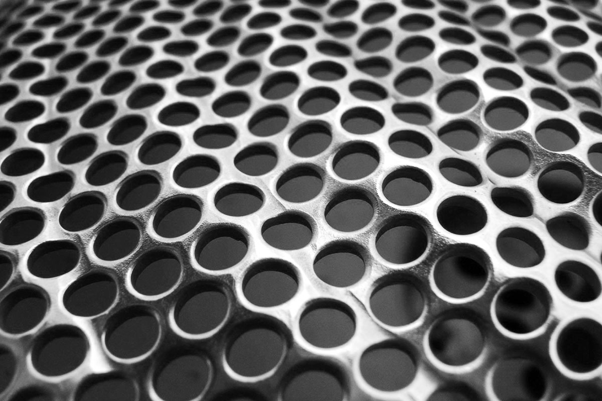 perforated corrugated sheet metal