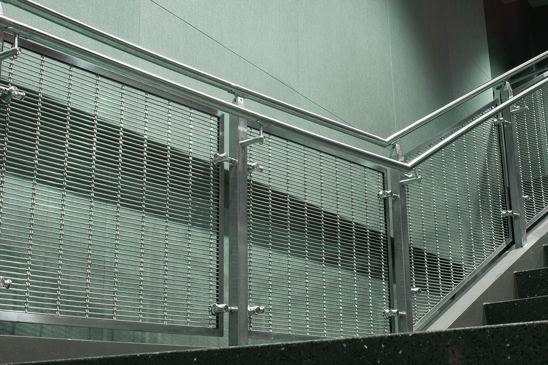 stainless steel cable mesh railing