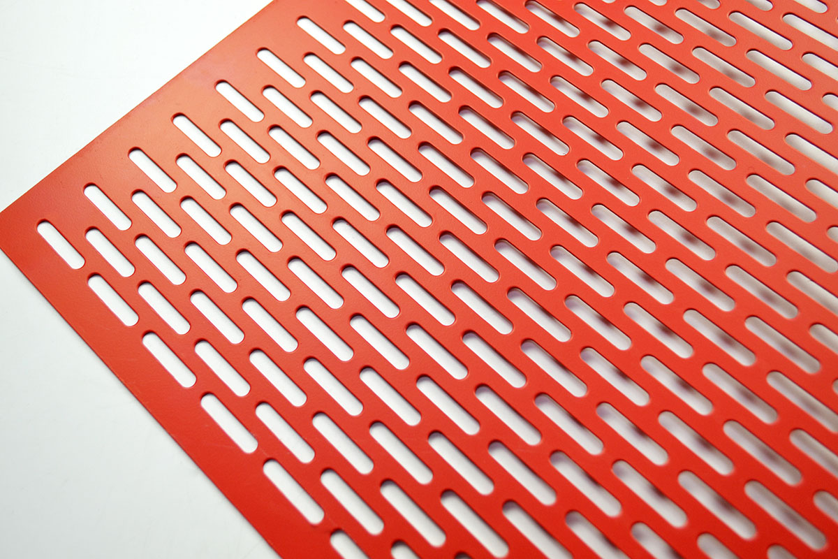 slotted decorative perforated aluminum sheet