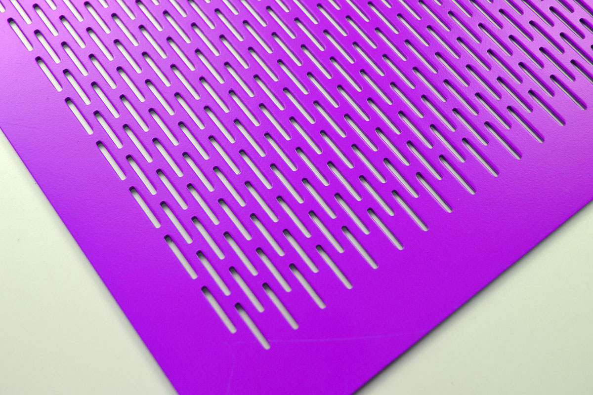 slotted decorative perforated sheet metal