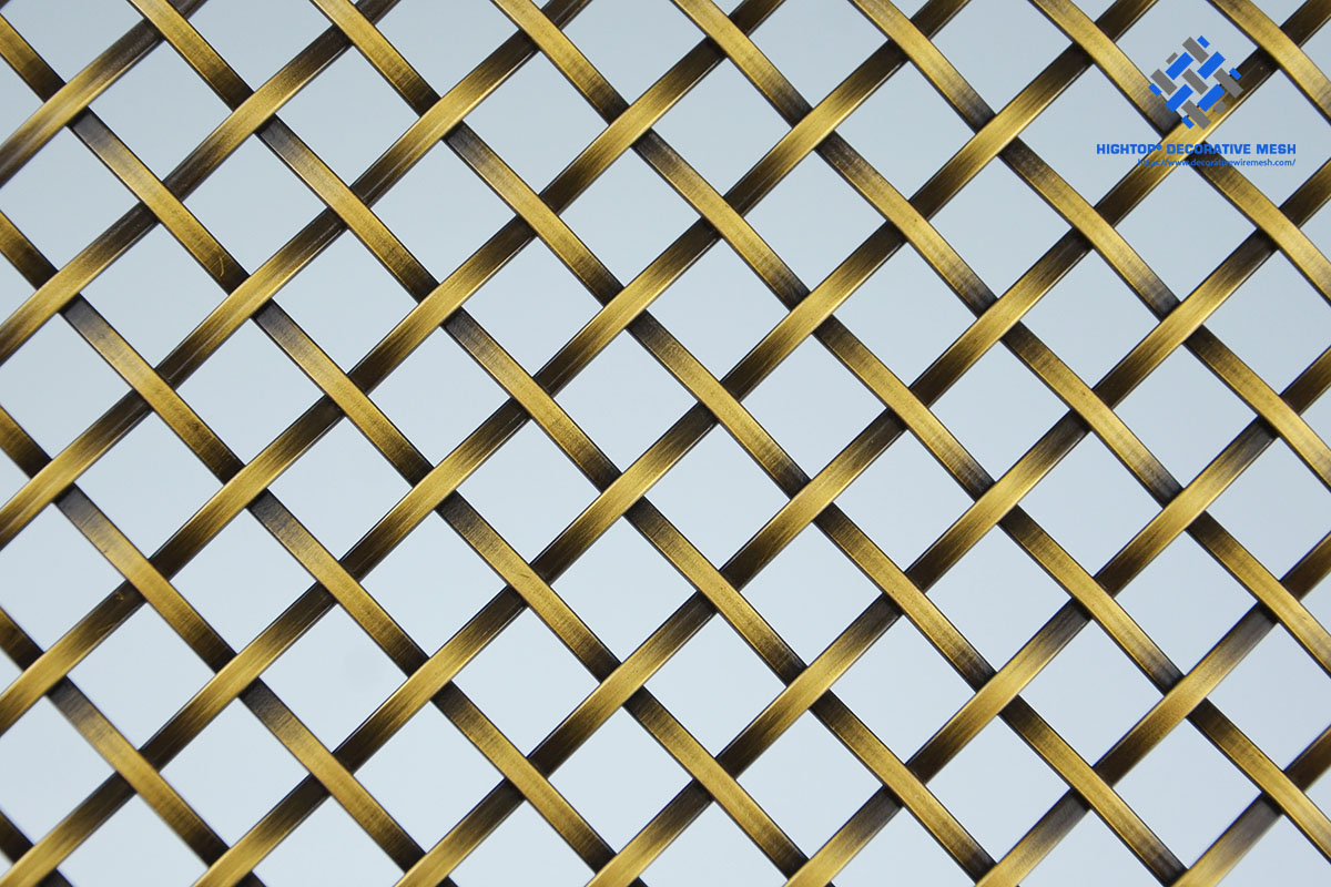 decorative wire mesh panels