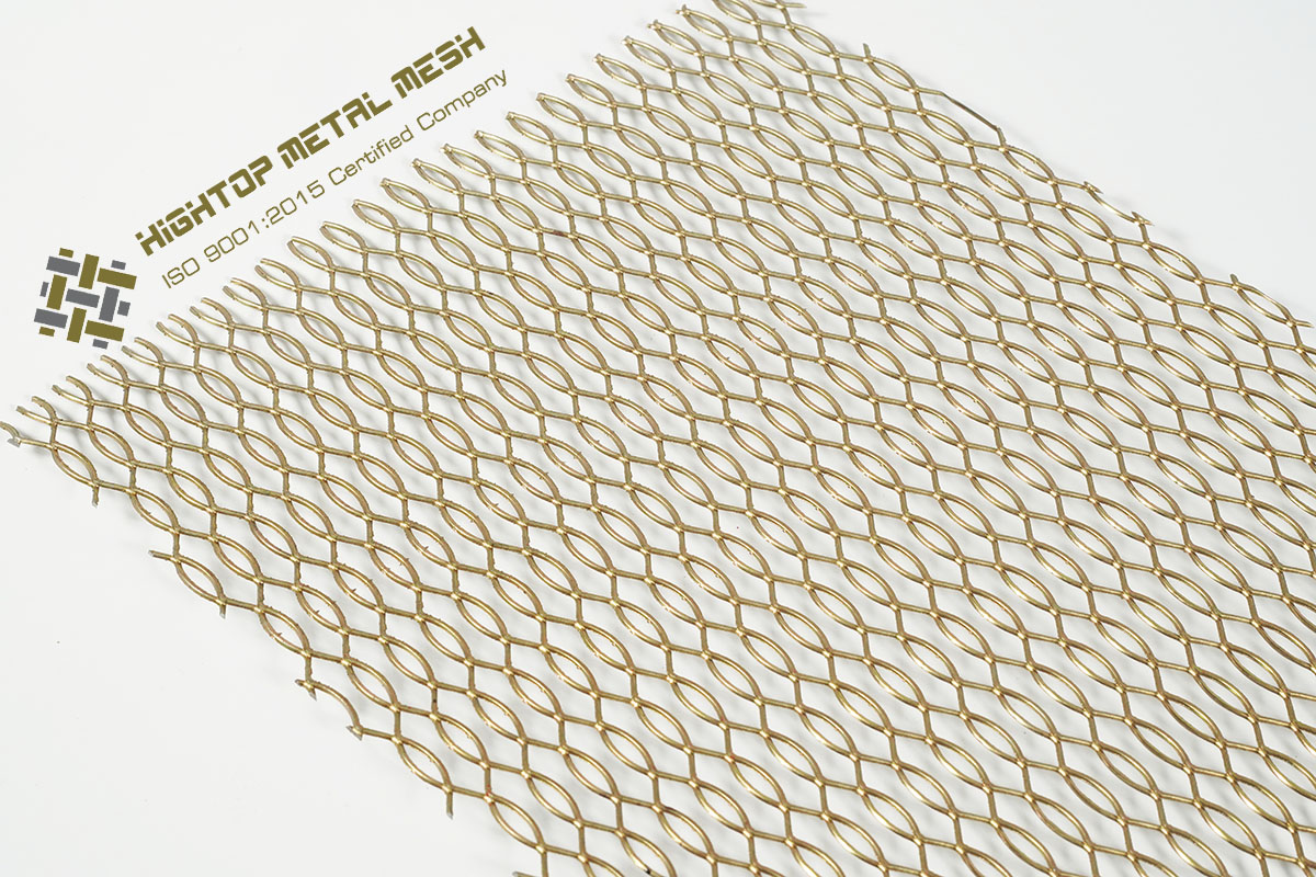 decorative expanded mesh screen