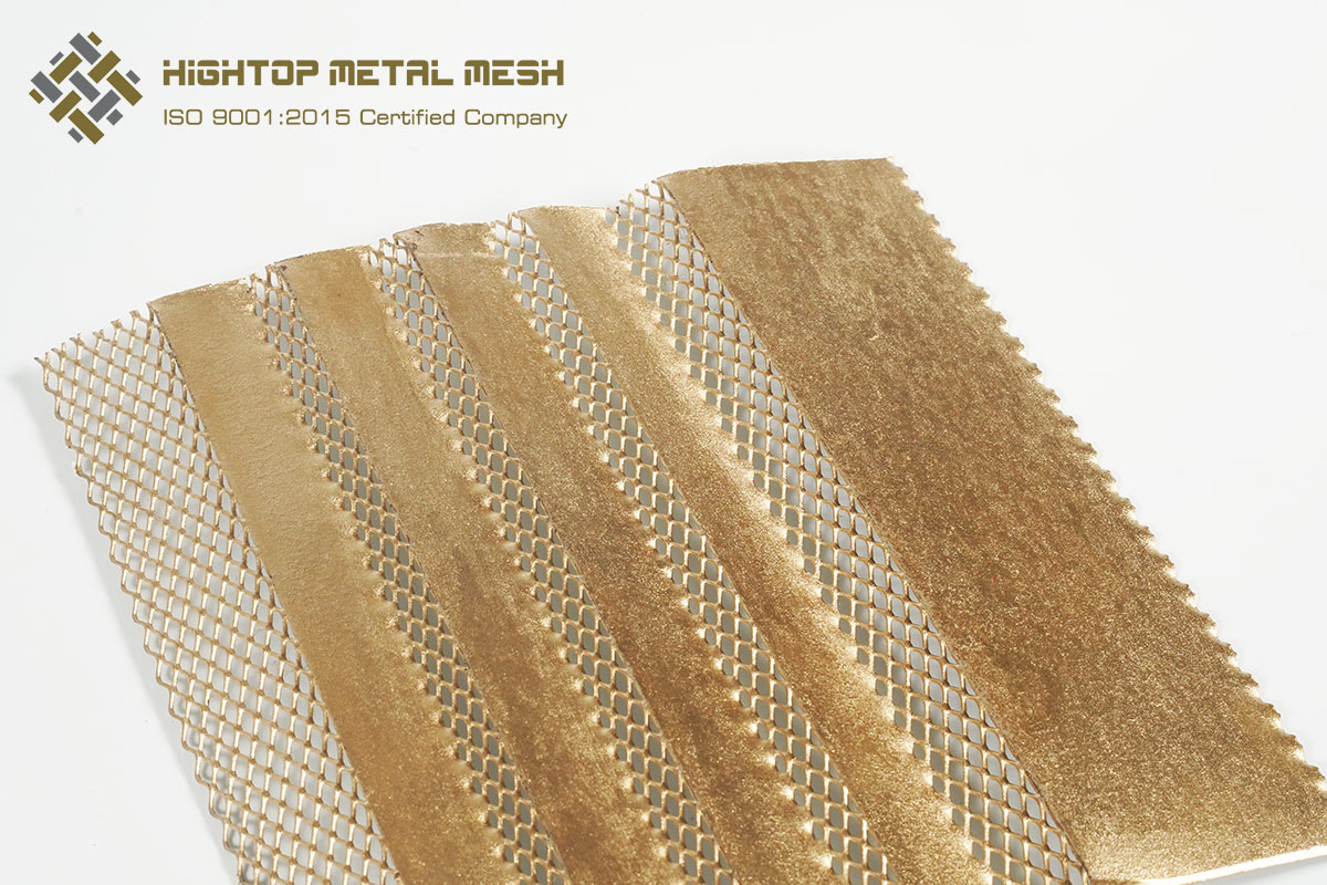 brass expanded metal lath