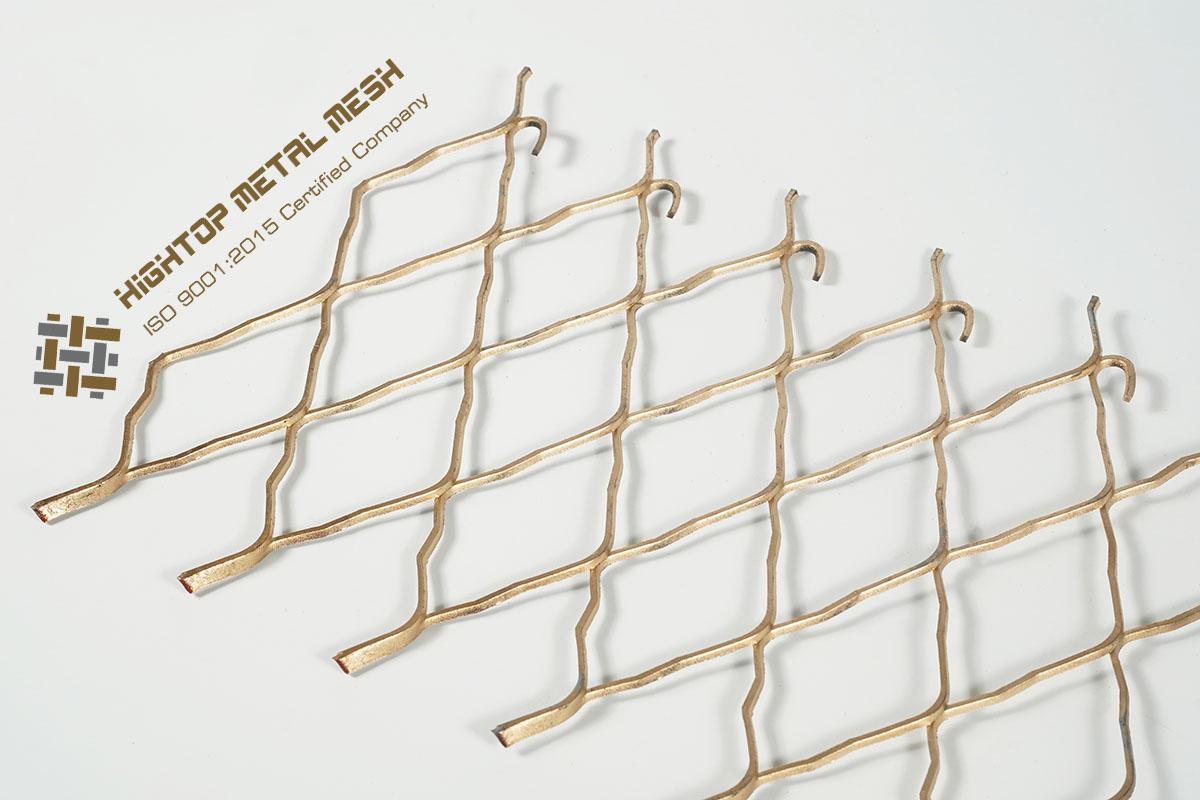 decorative metal diamond mesh