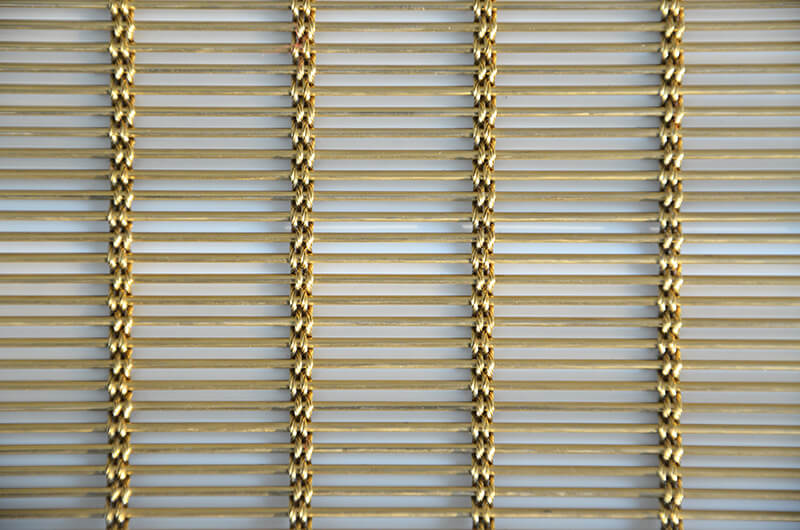 Decorative Brass Mesh Architecture