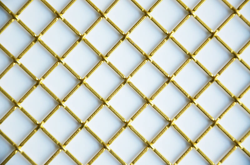 Br Wire Mesh Grill For Cabinet Doors