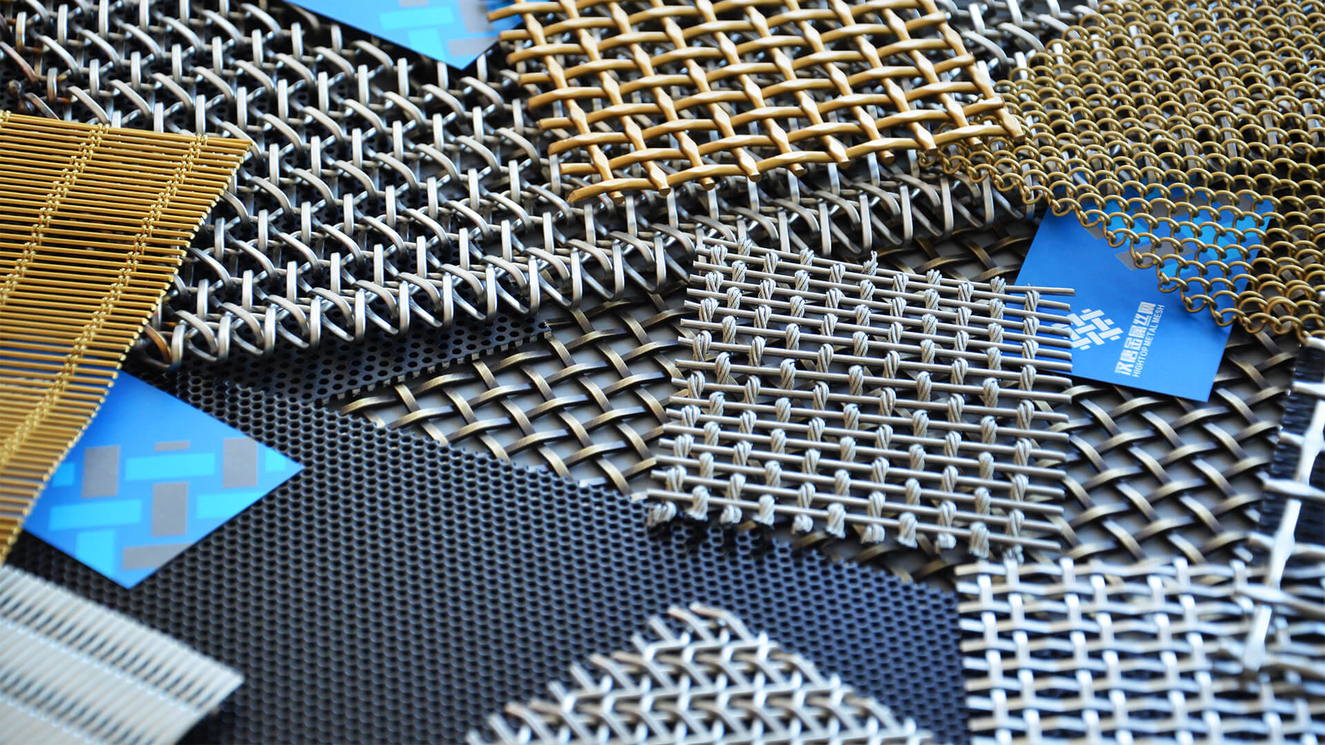 Architectural Decorative Wire Mesh Panels Grilles