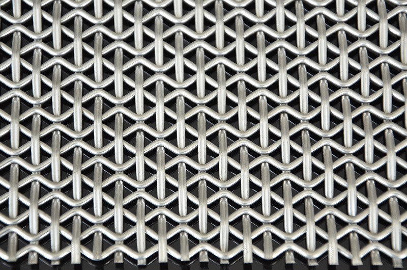 Stainless Steel Decorative Wire Mesh Panels for Cabinets Doors with pattern