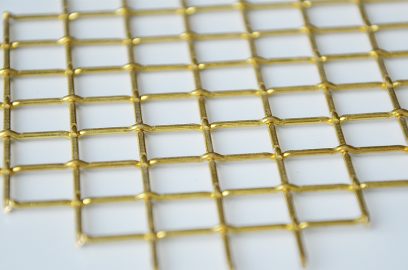 decorative brass mesh panels for car grills