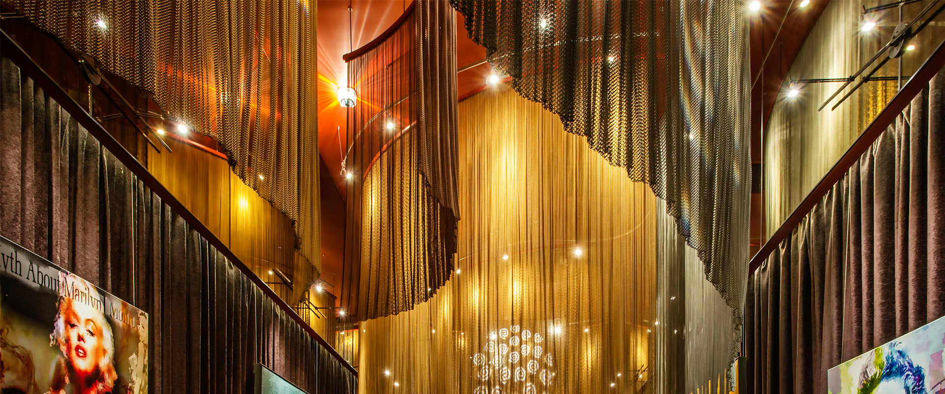 decorative metal curtain