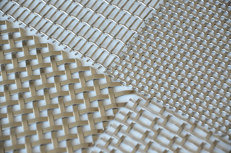 decorative metal mesh panels architectural wire mesh